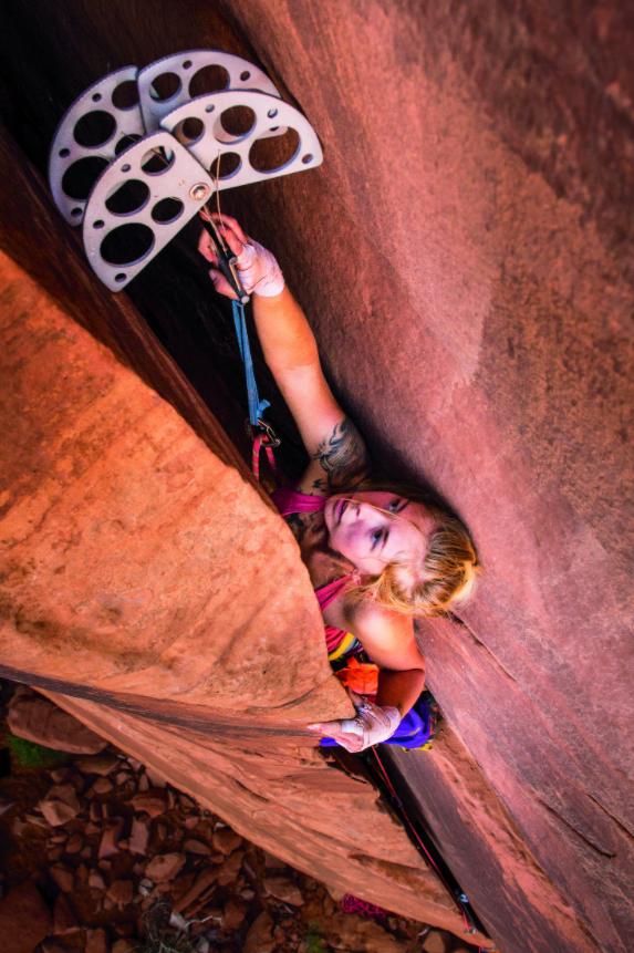 Ashley Cracroft by Irene Yee | 2019 Women of Climbing